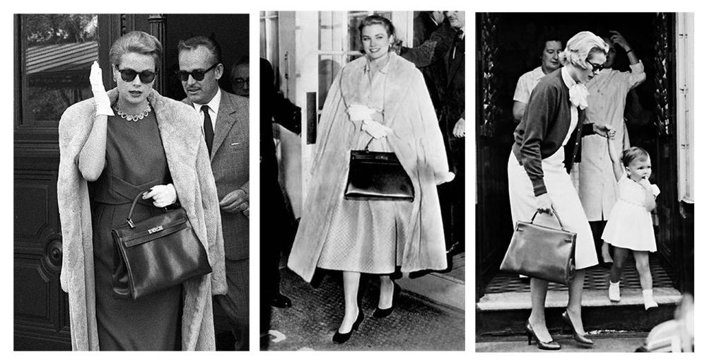 """Грејс Кели го носи моделот """"кели"""" на Ермес"""