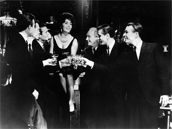 """Елизабет Тејлор во филмот од 1960 година """"Butterfield 8"""""""