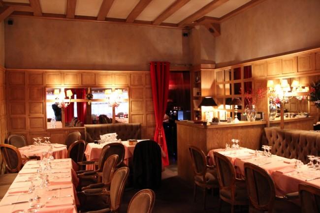 Ресторанот на традиционални француски јадења Relais Boccador