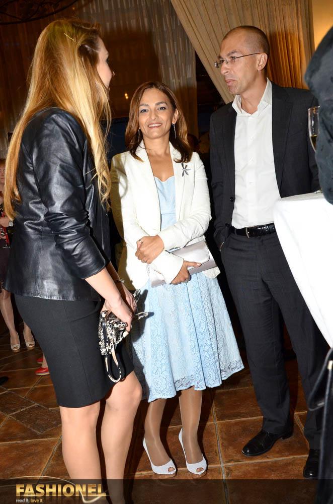 министерката за Внатрешни работи Гордана Јанкуловска со сопругот
