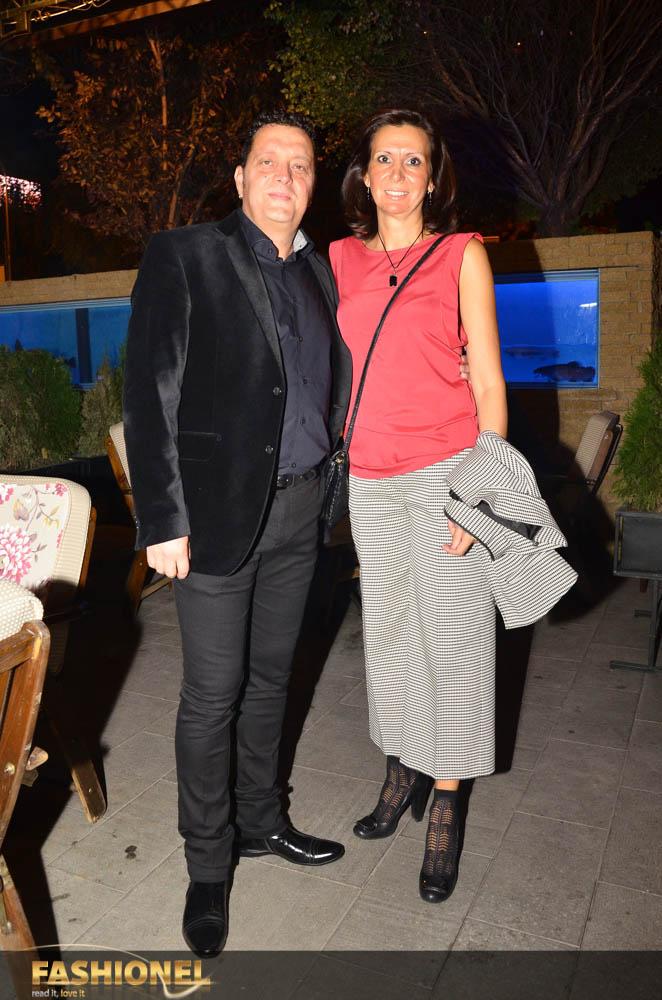 актерот Драган Спасов Дац со сопругата Весна
