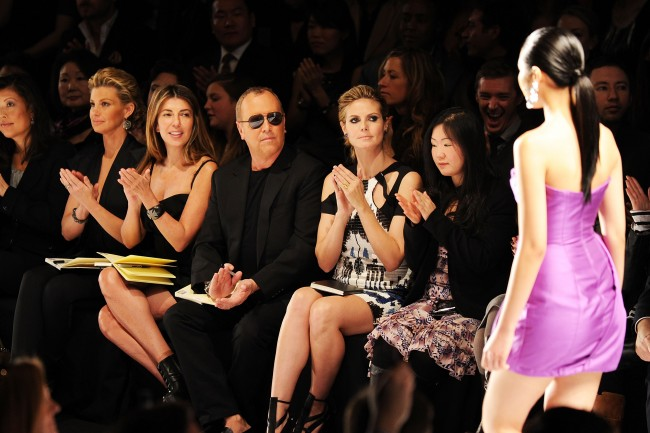 Project Runway - Front Row - Fall 2010 MBFW