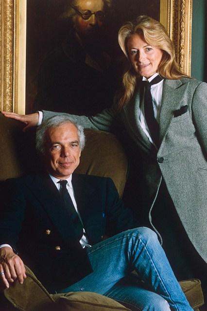 Портрет на дизајнерот со сопругата 1994 година