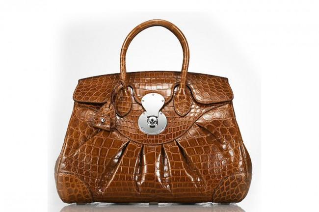 4.Ралф Лорен - Ricky Bag Тренди чанта со класичен модел, направена од алигаторска кожа и чини 20.000 евра.