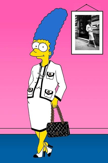 Во еден од најпознатите костими на Коко Шанел