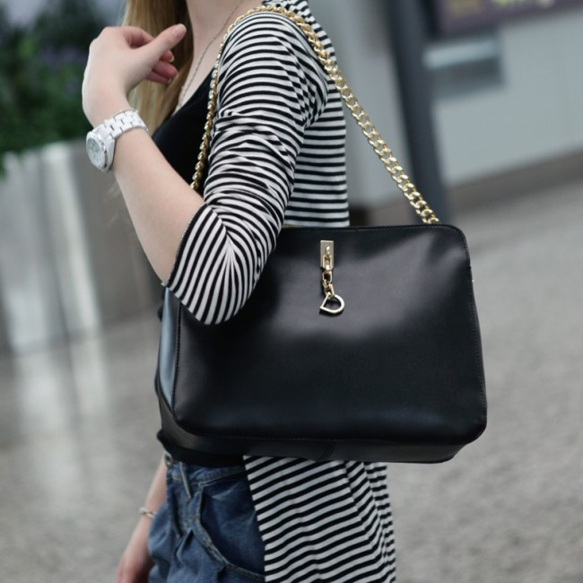 Promotions-hot-trendy-2013-all-match-fashion-chain-women-s-handbag-messenger-bag-8181-free-shipping