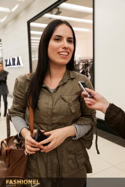 Даниела Димитровска од тимот на Елена Лука ни ја претстави нивната креативна елка