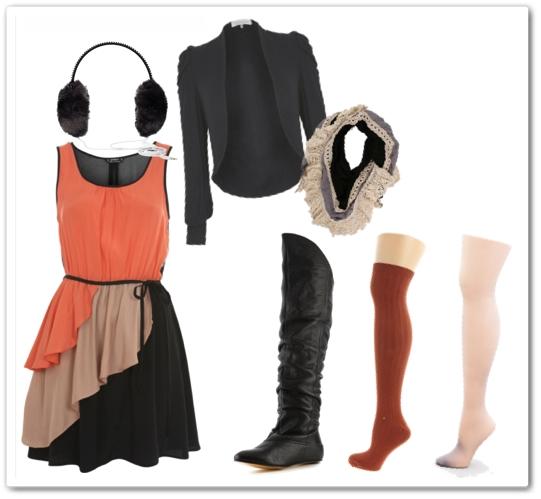 ljetne haljine zimi 10