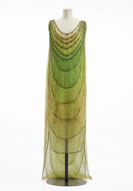 Vionnet вечерен фустан од 1922