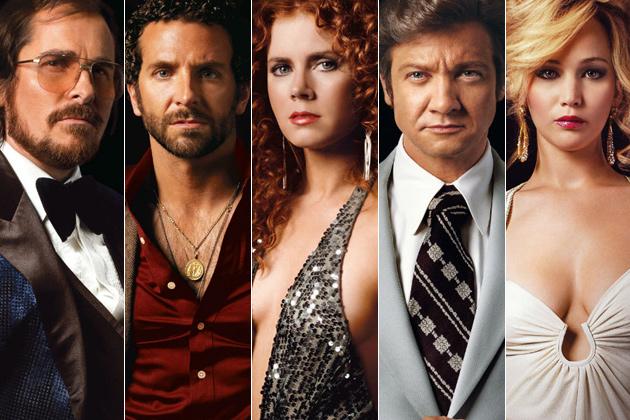 Актерите од филмот American Hustle