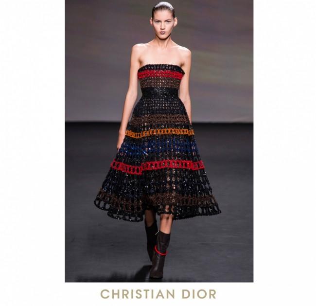 Jennifer Lawrence, Dior fall 2013