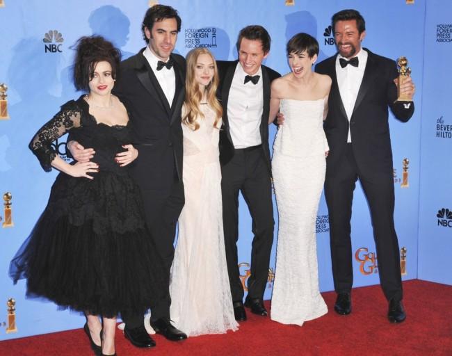 Актерите од филмот Клетници - апсолутни победници минатата година