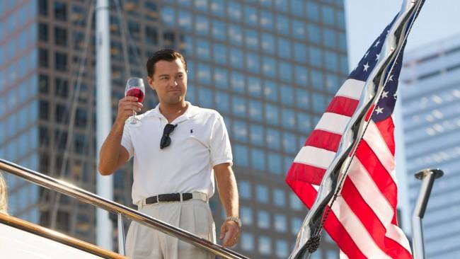 Сцена со Леонардо ди Каприо во фаворитот - The Wolf of Wall Street