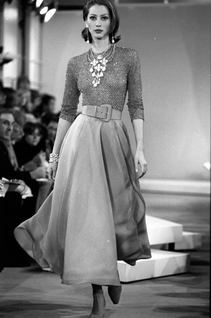 Дона Каран пролетна колекција ready-to-wear 1992 година.