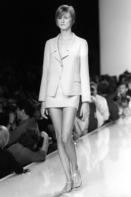 Дона Каран пролетна колекција ready-to-wear 1996 година.