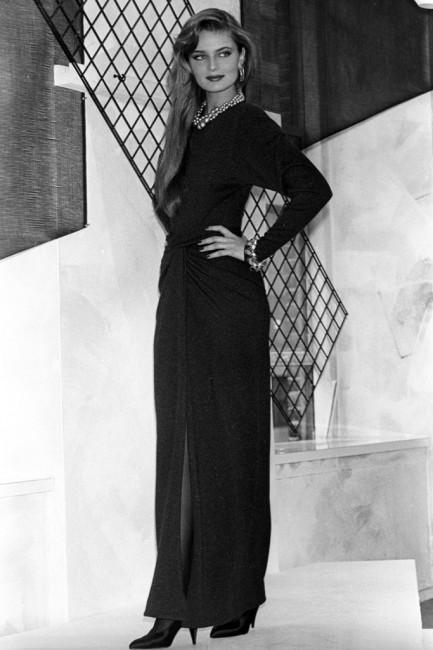 Дона Каран есенска колекција ready-to-wear 1985 година.