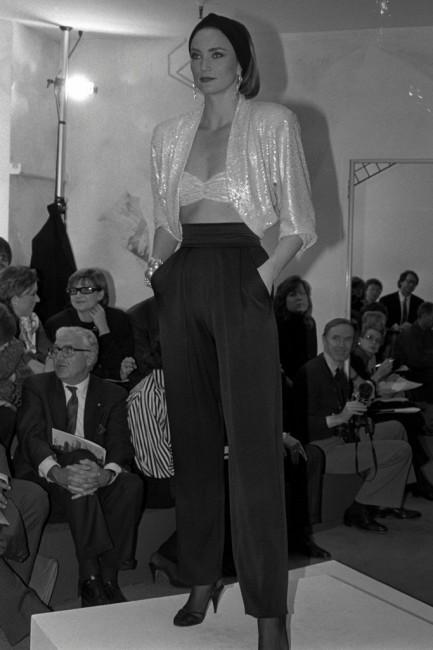 Дона Каран пролетна колекција ready-to-wear 1986 година