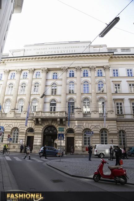 Das Palais Niederösterreich.