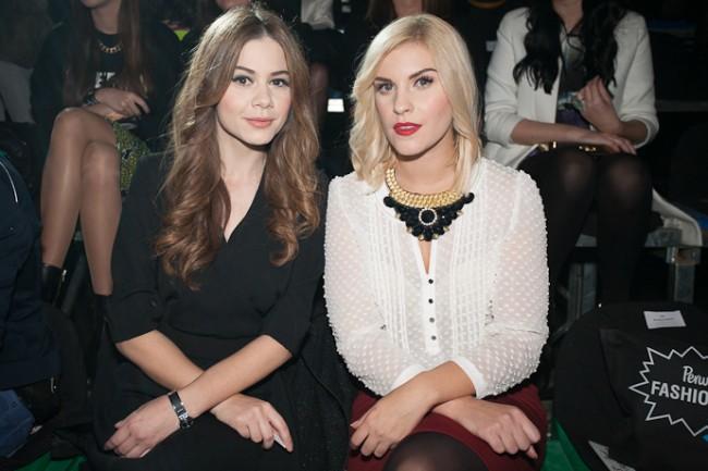 Јелена Јованова и Катарина Бабан на минатото издание на Perwoll Fashion.hr
