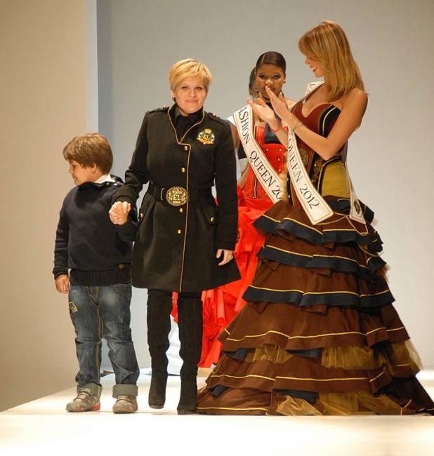 Елена Лука на претставувањето на својата колекција Fashion force,  есен-зима 2012