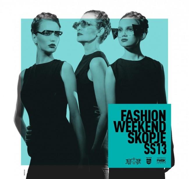 Официјален постер од седмата сезона на Модниот викенд Скопје