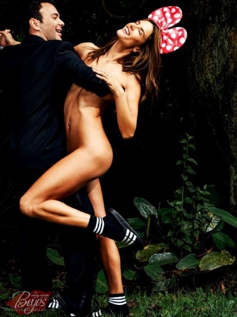 Александра Амброзио за  бразилски Vogue