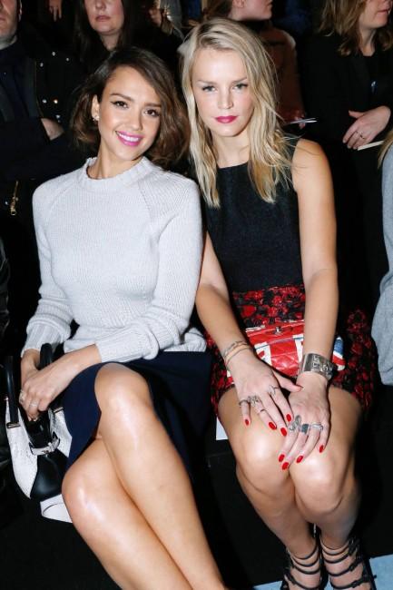 Jessica Alba, Kelly Sawyer @ Nina Ricci