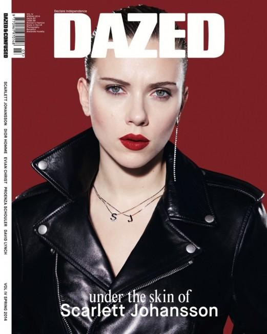Скарлет Јохансон на насловната на Dazed