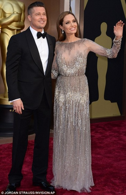 Бред Пит и Анџелина Џоли во Еле Саб