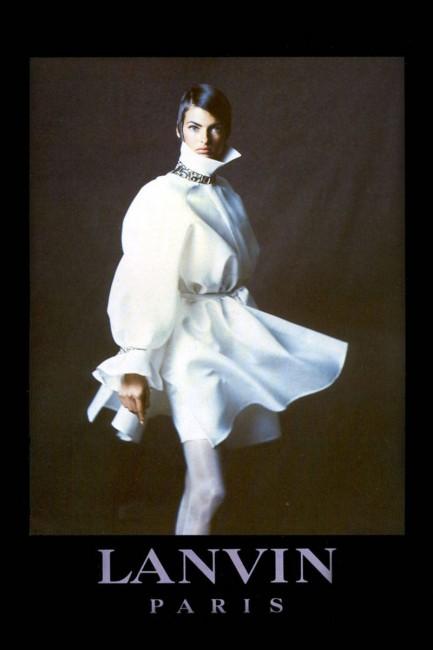 Линда Евангелиста за Ланвин, пролет 1992