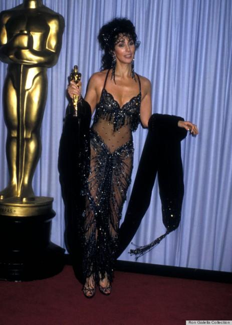 Шер на доделувањето на Оскарите 1988