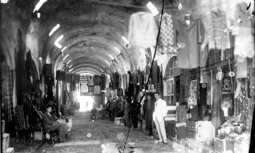 Пазар на облека во Битола во Отомански период