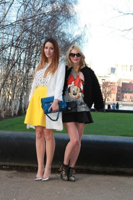за време на модната недела во Лондон