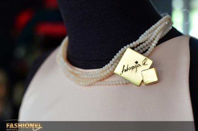 И накитот ќе биде дел од новата колекција на Ристовска