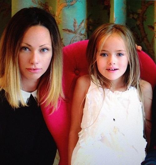 Кристина и нејзината мајка