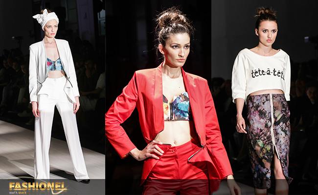 дел од колекцијата на Стефанија Насеска презентирана на Скопскиот моден викенд