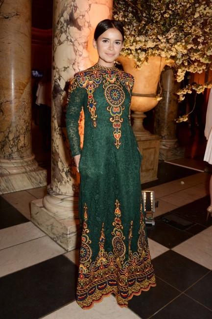 Специјалниот изглед на Мирослава Дума со винтиџ барокната нота на Валентино