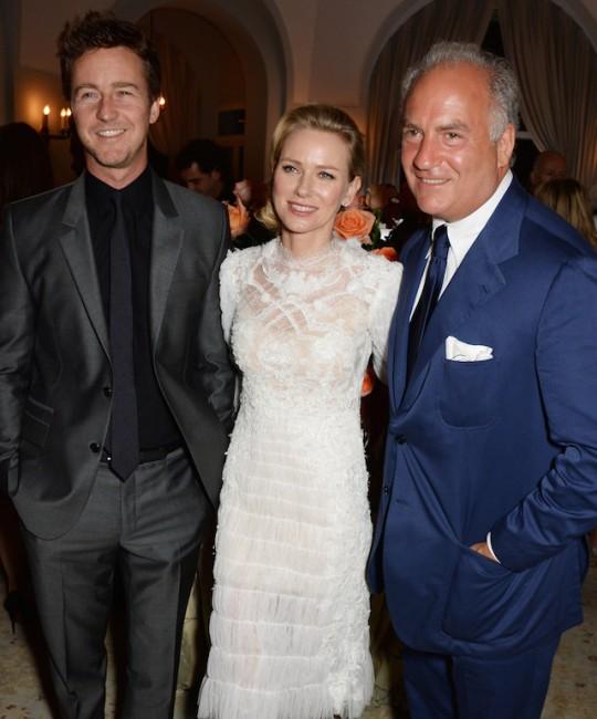 Забавата на Чарлс Финч, меѓу гостите Наоми Вотс и Едвард Нортон