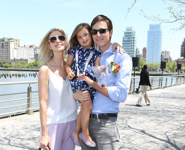 Иванка Трамп со семејството