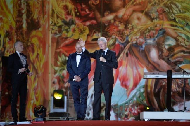 Гери Кеслер и Бил Клинтон