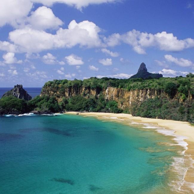 плажата Baio do Sancho во Бразил