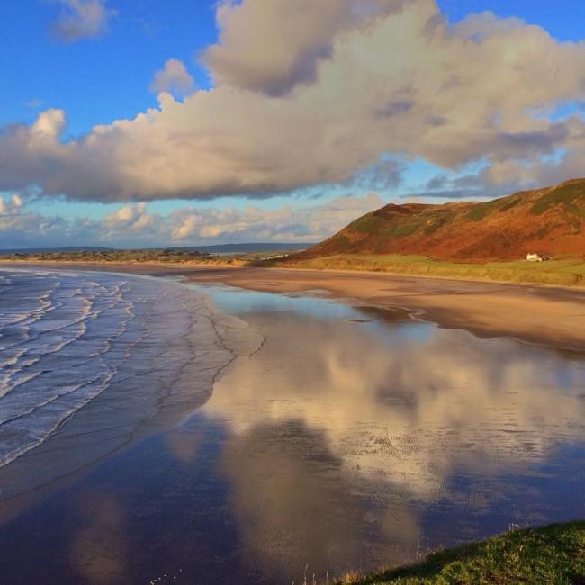 Заливот Росили во Велс