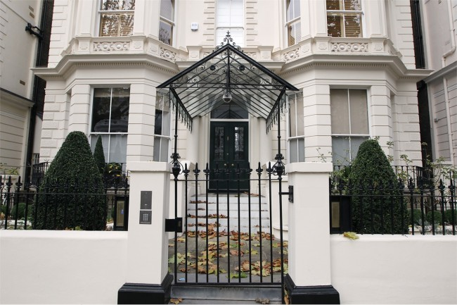 куќата во Лондон