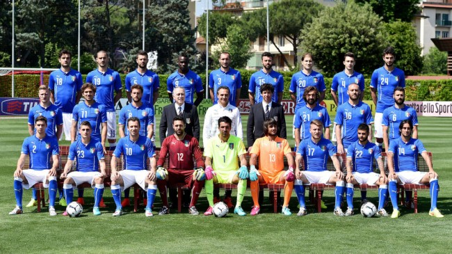 Италијанската репрезентација