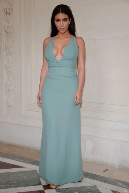 модно шоу на Валентино: Ким Кардашијан