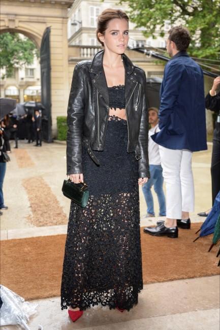 модно шоу на Валентино: Ема Вотсон