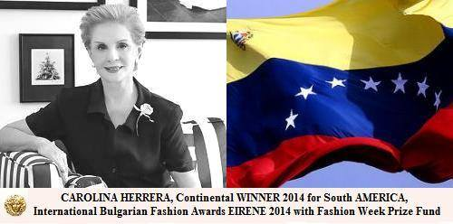Каролина Херера - Јужна Америка