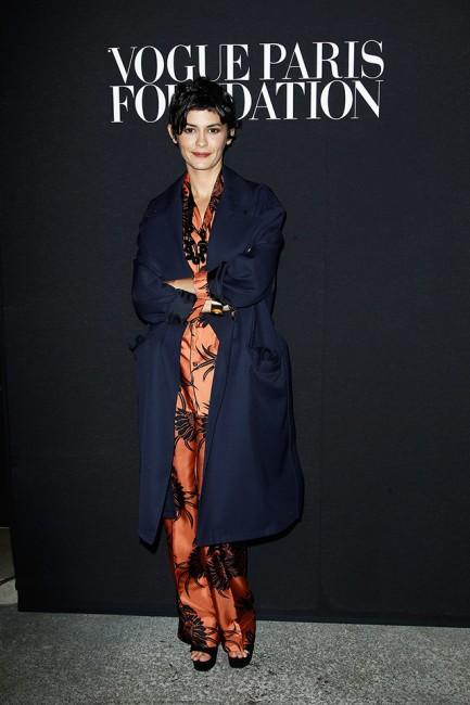 Vogue гала вечера: Одри Тату