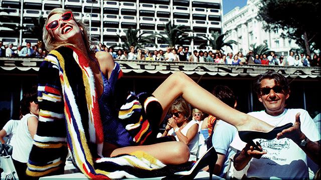 Џери Хол и Хелмут Њутн 1983