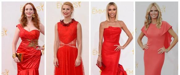Еми награди 2014: Дамите во црвено го преплавија Лос Анџелес!